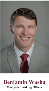 Benjamin H. Washa, Mortgage Banking Officer with Adams Bank & Trust, Northern Colorado, works with The Enclave at Berthoud Lake, Berthoud Colorado